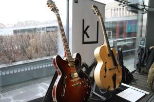 Jukka Koistisen kitarat.