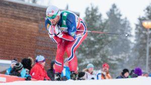 Petter Northug i Lahtis, 2016.