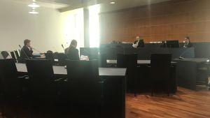Rättegång kring Wärtsiläs uppsägningar i Österbottens tingsrätt.
