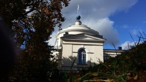 Gamla observatoriet på Vårdberget, där Stiftelsen för Åbo Akademi finns.