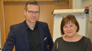 Vicerektor Niklas Sandler och professor Elina Pirjatanniemi har engagerat sig i Scholars at Risk-nätverket.