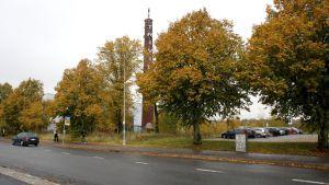 bollhallstomten vid kuppis i Åbo