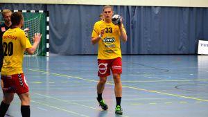 Theo Westerlund i Cocks efter flytten från SIF.