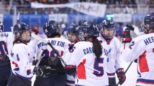 Korea spelade med gemensamt lag i OS.