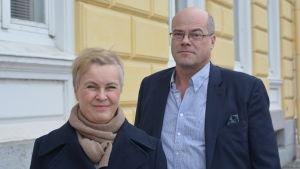 Agneta Evers och Olof Exell