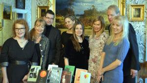 De åtta nominerade för Runebergspriset 2016.