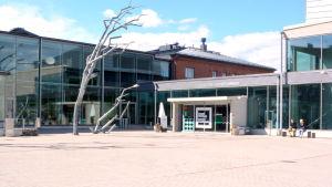 Konstfabriken i Borgå utifrån