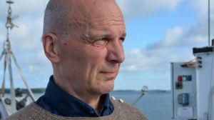 Forskningsföreståndare Ilppo Vuorinen på Själö.