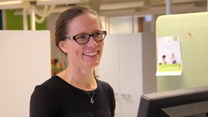 Nina Bergring är placeringsdirektör på Veritas pensionsförsäkring.