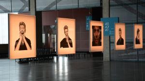 """Fotografierna i utställningen """"Bowie – The Session"""""""