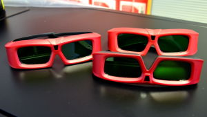 3D-glasögon för biografbruk