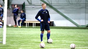 Mikael Forssell i HJK:s träningar februari 2016.