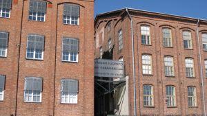Fabriikki vid Vasa universitet på Brändö i Vasa.