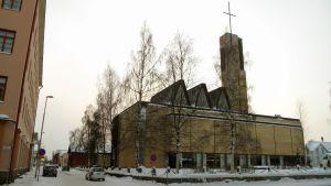 Kyrkan i Karleby.