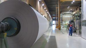 Sappis pappersfabrik i Lojo.