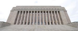 Riksdagshuset i Helsingfors.