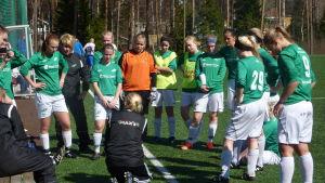 Ekenäs IF:s damer 2012.