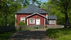 Den gamla läkargården i Ingå.