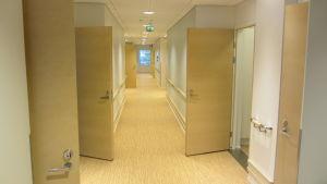 Korridor i Majbergets servicehus