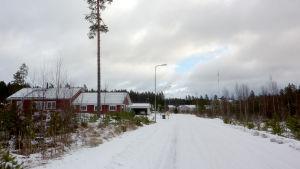 Hallonvägen i Gammelboda.