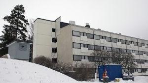 Tammerfors universitets sjukhus neurologiska polikliniken.