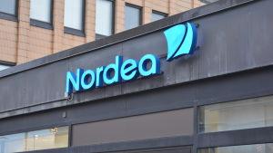 Logo för Nordea bank