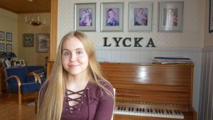 Elvira Nyrönen i Jakobstad är med i MGP finalen