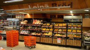 bröddisken i citymarket i borgå