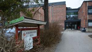 Borgaregatans skola i Vasa.