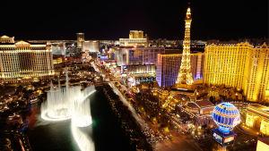 Vy över Las Vegas.
