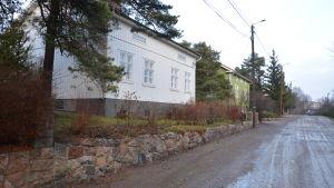 Margita Vainios hus på Bäckgatan i Åbo.