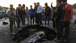 Minst 48 dödades i attacken i Bagdad.