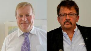 Kjell Heir och Rainer Bystedt