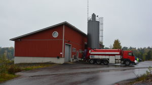 Tyska holmens avloppsreningsverk i Dalsbruk