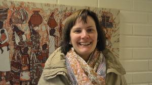 Mirella Enlund från Ebeneserförsamlingen i Jakobstad