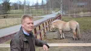 Direktör Carl-Johan Strömberg vid Lagmansgården