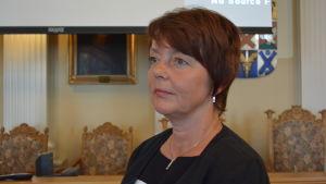 Tävlingsjuryns ordförande, fullmäktigeordförande Carola Sundqvist (SFP)