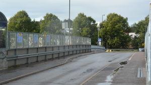 Järnvägsbron i Karis.