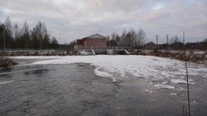 Långfors kraftverk i Esse å