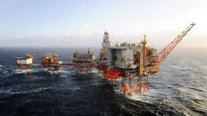 Oljeplattformen Valhall