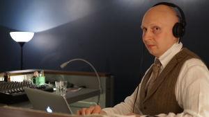 Mikko Ahonen toimii myös tango DJ:nä.