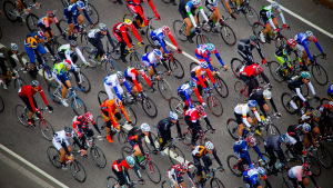Huvudklungan i Tour de Helsinki 2011