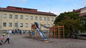 Kyrkoby skola i Sibbo.