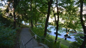 Trappa till Samppalinnaberget