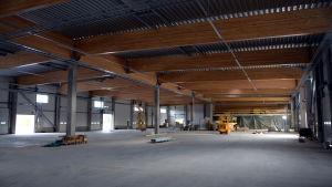 Schenkers logistikterminal i Vasa.