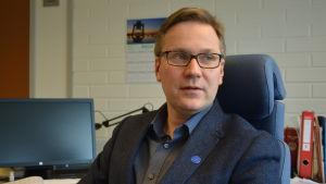 Mats Brandt, kommundirektör i Malax.