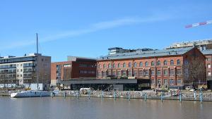 Gästhamnsbygget är på slutrakan.