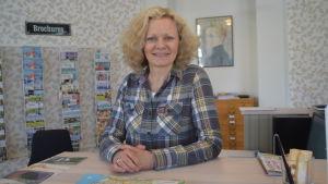 Turistsekreterare Martina Österberg i Raseborg.