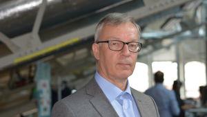 Egentliga Finlands sjukvårdsdistrikts kommunikationsdirektör Esa Halsinaho.