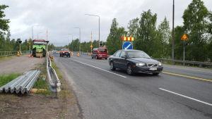 Pojoviksbron i Ekenäs är nu asfalterad.